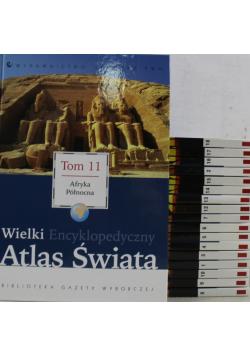 Wielki Encyklopedyczny Atlas Świata Tom od I do XVIII