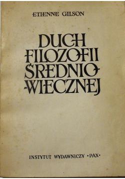 Duch filozofii średniowiecznej