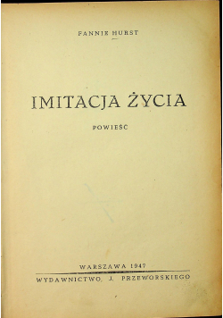 Imitacja życia 1947r.