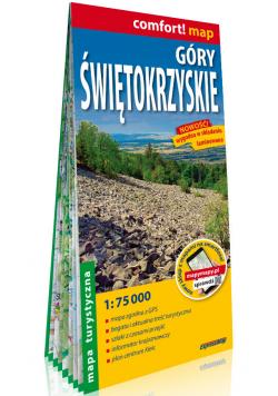 Góry Świętokrzyskie laminowana mapa turystyczna 1:75 000