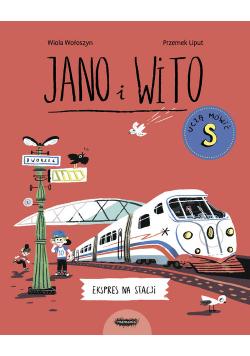 Jano i Wito uczą mówić S Ekspres na stacji