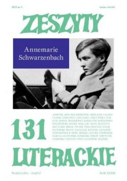 Zeszyty literackie 131 3/2015