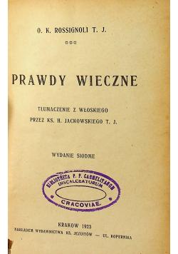 Prawdy wieczne 1923 r