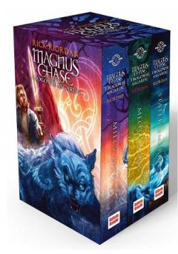 Pakiet: Magnus Chase i bogowie Asgardu T.1-3