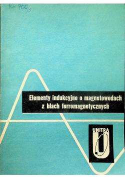 Elementy indukcyjne o magnetowodach z blach ferromagnetycznych