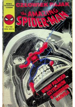 Człowiek pająk The Amazing Spiderman nr 2