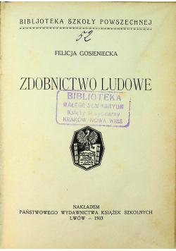 Zdobnictwo ludowe 1933 r.