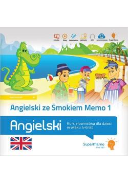Angielski ze Smokiem Memo 1 Kurs słownictwa dla dzieci w wieku 4-6 lat