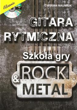 Gitara rytmiczna. Szkoła gry rock & metal w.2