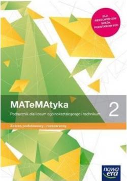 Matematyka 2 Podręcznik dla LO i technikum Zakres podstawowy i rozszerzony