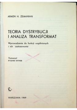 Teoria dystrybucji i analiza transformat
