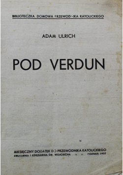 Pod Verdun  1937 r.