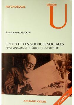 Freud y las ciencias sociales Psicoanálisis y teoría de la cultura