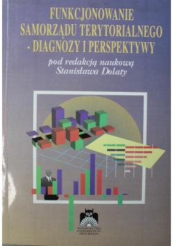 Funkcjonowanie samorządu terytorialnego  diagnozy i perspektywy