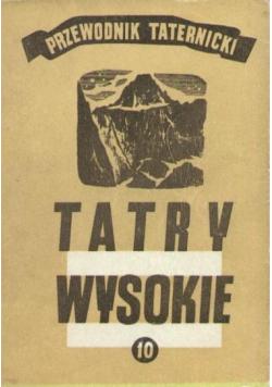 Tatry wysokie Przewodnik taternicki Część 11