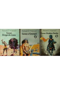 Conan z Cimmerii / Conan godzina Smoka / Conan Droga do tronu
