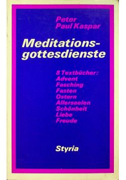 Meditationsgottesdienste