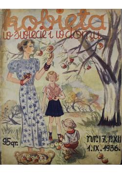 Kobieta w świecie i w domu Nr 17 1936 r.