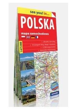See you! in... Polska 1:675 000 mapa samochodowa