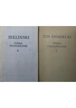 Pisma filozoficzne II  2 tomy