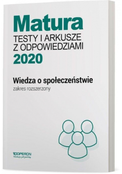 Matura 2020 WOS Testy i arkusze ZR