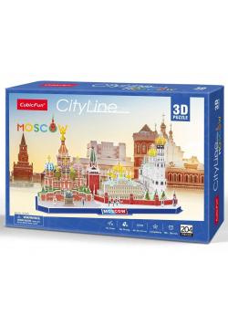 Puzzle 3D Cityline Moskwa
