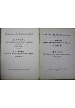 Słownik łaciny średniowiecznej w Polsce Tom III Zeszyty 7 i 6