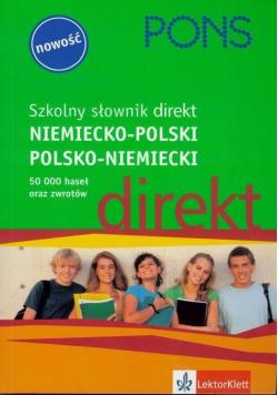 Szkolny słownik niemiecko polski polsko niemiecki