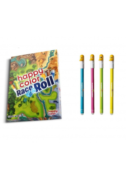 Race & Roll HAPPY COLOR