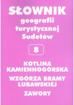 Słownik geografii turystycznej Sudetów Kotlina Kamiennogórska