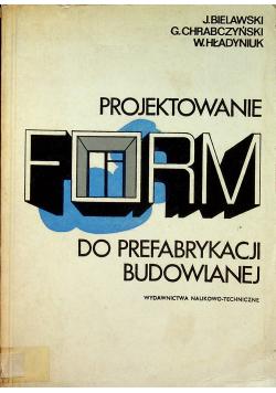 Projektowanie form do prefabrykacji budowlanej