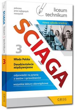 Ściąga LO cz.3 Młoda Polska - 20-lecie... NPP GREG