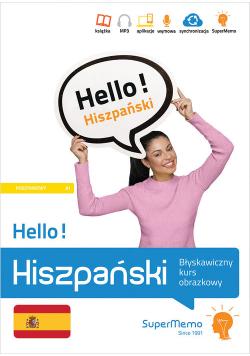 Hello! Hiszpański Błyskawiczny kurs obrazkowy (poziom podstawowy A1)