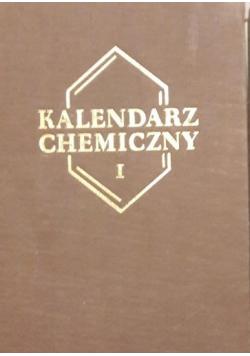 Kalendarz chemiczny  Tom I