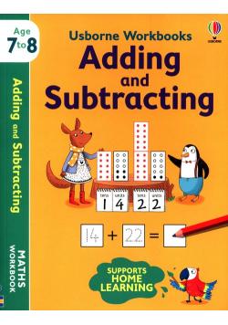 Usborne Workbooks Adding and Substracting