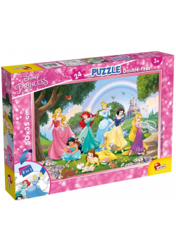 Puzzle dwustronne Plus 24 Princess