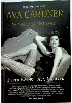 Ava Gardner Wyznania intymne