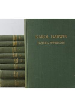 Darwin Działa wybrane 9 tomów