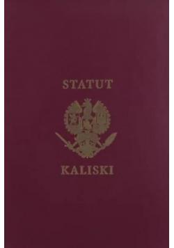 Historia Statutu Kaliskiego...