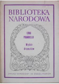 Luigi Pirandello wybór dramatów