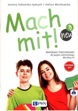 Mach mit! neu 3 Materiały ćwiczeniowe do języka niemieckiego dla klasy 6