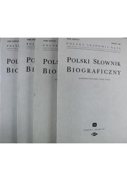 Polski Słownik Biograficzny 4 zeszyty