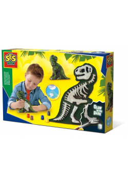 Odlew ze szkieletem - Dinozaur T-rex