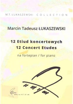 12 Etiud koncertowych na fortepian