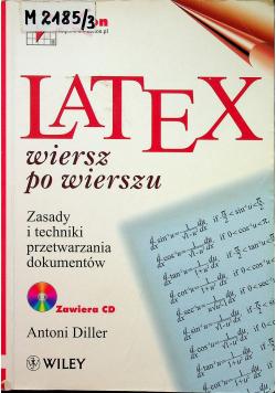 LaTeX Wiersz po wierszu