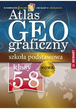 Pakiet Atlas geograficzny Szkoła podstawowa 5 8 klasa