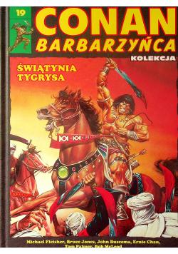 Conan barbarzyńca świątynia tygrysa numer 19