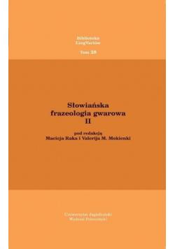 Słowiańska frazeologia gwarowa II