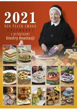 Kalendarz 2021 Rok pełen smaku