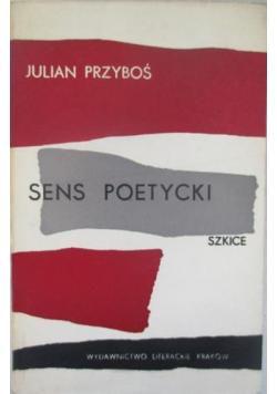 Sens poetycki